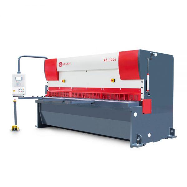เครื่องตัดไฮดรอลิค CNC รุ่น AS เครื่องตัดโลหะแผ่นระบบ CNC