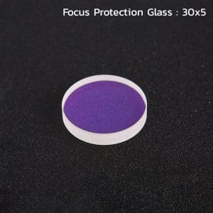 Focusing Protection Glass 30x5