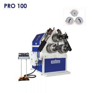 เครื่องม้วนเหล็ก เครื่องม้วนเหล็กรูปพรรณ Bendmak รุ่น PRO 100 ม้วนเหล็ก